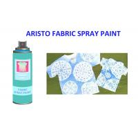 Non - toxic fabric spray paint