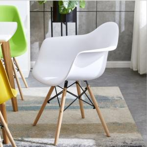 Powder Coating PP KD 81CM Ergonomic Dining Chair Manufactures