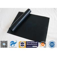 """0.12mm FDA Black Non Stick PTFE BBQ Grill Mat Oven Liner 15.75x13"""" Manufactures"""