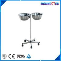 China BM-E3014 Medical Hospital Furniture Stainless Steel Mayo Table with Bowl on sale
