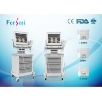 Hifu wrinkle removal and face lift machine self-made motor with stable and even energy Manufactures