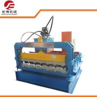 China 4KW Roll Forming Accessory Machine , Curved Roof Panel Roll Forming Machine on sale