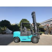 Hydraulic Transmission 4 Ton Forklift Truck Diesel Power Unit With Three Mast Manufactures