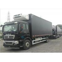 Commercial Refrigerated Truck SINOTRUK HOWO 20 - 25 CBM German MAN Engine Euro 4 Manufactures