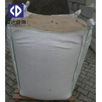 1 Ton FIBC Bulk Bags For Sand Cement Top Open Bottom Flat For Chemical Manufactures