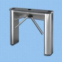 Semi - Automatic Vertical  Tripod Turnstile Gate Electronic Turnstiles For Airport