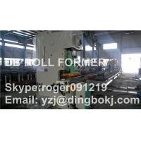 Solar Photovoltaic Purlin Roll Forming Machine With Punching Device Manufactures
