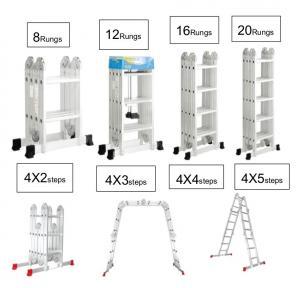 EN131 Alloy 4x3 Multi Function Ladder Platform Manufactures