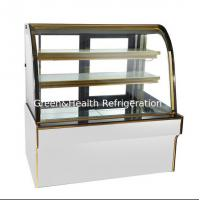 Eco - Friendly Cake Display Refrigerator With Micro Computer Control For Bakery Store Manufactures