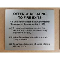 Uv Printed Custom 3d Metal Signs Anodised Aluminum Plaques With Satin Laminate To Face Manufactures