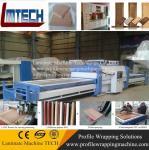 New modular design PVC kitchen cabinet door vacuum membrane press machine Manufactures
