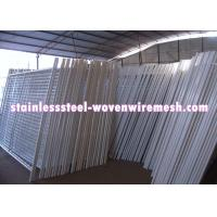 White Vinyl Coated Welded Wire Mesh Fencing Metal Mesh Fence Oxidation Resistance Manufactures