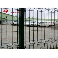 Security Green Powser Coating Wire Mesh Fence Panels For Residential Manufactures