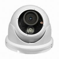 600 TV Line IP66 Waterproof Led Array Camera, IR Security Dome Cameras Manufactures