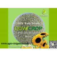 DOWCROP HIGH QUALITY 100% WATER SOLUBLE MONO SULPHATE FERROUS 30% LIGHT GREEN GRANULAR MICRO NUTRIENTS FERTILIZER Manufactures