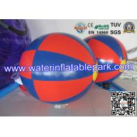 Outdoor Colorful Inflatable Water Ball , 1.5m / 2m Inflatable Water Rolling Ball Manufactures
