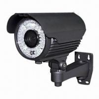Waterproof IR Security 600TVL Camera, 40m, 72-piece LED Infrared Cameras, 2.8 to 12mm Lens Manufactures