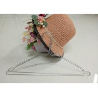 Multifunctional Wire Dry Cleaning Hangers  16 Inches 2.2mm Thickness For Wet Clothes Manufactures