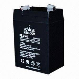 6V, 4.5AH Sealed Lead Acid Battery for Security Alarm System Manufactures