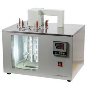 China 4-Hole Oil Viscosity Testing Equipment Petroleum Asphalt Kinematic Viscometer on sale