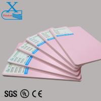 China Pink PVC co-extruded foam board for butterfly model on sale