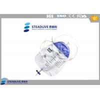 PVC Material Urine Colostomy Bag For Incontinence People , Volume 1500mL Manufactures