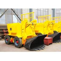 Underground Mining Wheeled Rock Loader Electric Type Compact Structure Manufactures