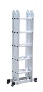 Corrosion Resistant 4X5 19ft Multi Purpose Ladder Manufactures
