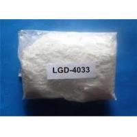Quality LGD-4033 Bodybuilding Sarms Raw Powder White Color 99% Purity ISO9001 Listed for sale