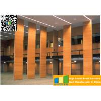 Cheap Powder Coated Meeting Room Sound Proof Partitions / Panels With Track System for sale
