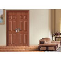 China Corridor Custom MDF Doors , Apartment Fir Wood Skeleton MDF Internal Doors on sale