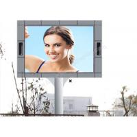 Cheap 1 / 2 Scan High Luminance P10 Led Screen Outdoor Advertising With Pole Installation for sale