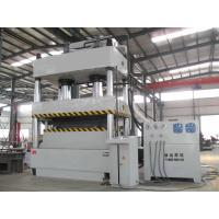 Oil Hydraulic Metal Stamping Press Machine ,  800T 4 Pillar Hydraulic Press Manufactures