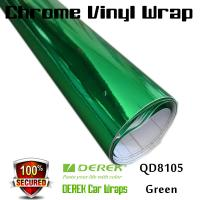 Chrome Mirror Car Wrapping Vinyl Film 3 layers - Chrome Green Manufactures