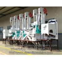 China high quality 20tpd automatic mini rice milling machine price for rice process industry on sale