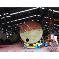 Self Aligned Welding Rotator 40Ton for Air Receivers Casing Pipes and Process Tanks Manufactures