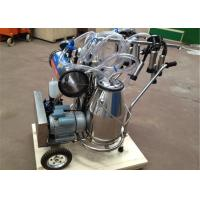 Food Grade Portable Milking Machine Twin Buckets With CE Approved Manufactures