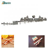 Dog Dental Care Chewing Pet Food Production Line Single Extruder Stainless Steel Manufactures