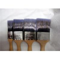 1''-4'' Multifunctional Nylon Flat Paint Brush For Walls With Stainless Steel Ferrule Manufactures