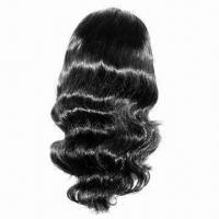 100% Indian Remy Human Hair Full Lace Wig, Various Colors and Styles are Available in Stock Manufactures