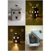 Cheap Natural Home Decor/ Pumice Stone Candle Holder/ Home Lighting/ Natural Gift/ Stone for sale