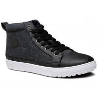Buy cheap Fashion Sneaker Designer Mens Casual Flat Shoes Boots Lace Up Canvas Upper from wholesalers