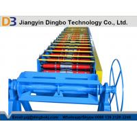 PPGI Steel Coil Metal Deck Roll Forming Machine With Color Customized Manufactures
