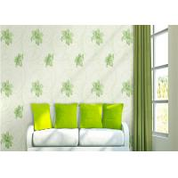 Cheap Lily Printing 0.53*10M Custom Country Style Wallpaper With Embossed Surface Treatment for sale