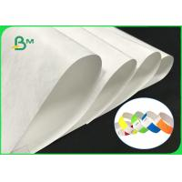 Tear Resistant 43gsm 55gsm 75gsm Tyvek Printer Paper For Printing Wristband Manufactures
