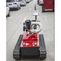 Buy cheap CE Approval Fire Rescue Equipment / Fire Fighting Robot Working Time 5h from wholesalers