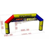 10m*5m Mix Color Large PVC Custom Inflatable Arch / Inflatable Advertising Manufactures