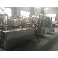 PLC Control PET Can Industrial Linear Linear Filling Machine 1000-2000 Cans / hour Manufactures