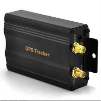 Car / Vehicle GPS Trackers with GPS+LBS Double Tracking Solution Via SMS / Web Platform Manufactures