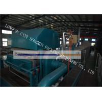 High Efficiency Egg Box Making Machine , Egg Tray Production Line 100 - 400 KW Manufactures